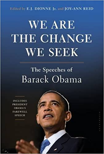 We are the change we seek barack Obama