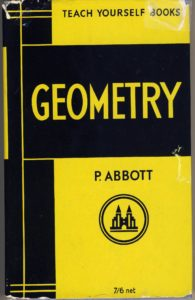 Favourite Maths Books - Teach Yourself Geometry by Paul Abbott