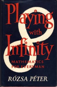 Favourite Maths Books - Playing with Infinity by Rozsa Peter