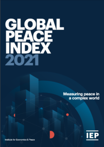 The best books on Peace - Global Peace Index: 2021 Institute for Economics and Peace