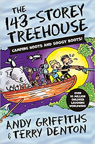 The 143-Storey Treehouse by Andy Griffiths & Terry Denton (Illustrator)