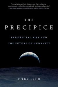 The best books on Big History - The Precipice: Existential Risk and the Future of Humanity by Toby Ord