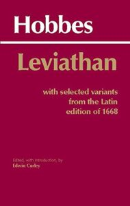 Leviathan: With Selected Variants from the Latin Edition of 1668 by Edwin Curley & Thomas Hobbes