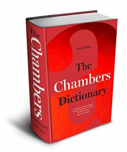 Five Favourite Books - The Chambers Dictionary
