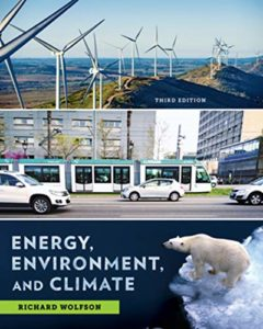 Nuclear Books - Energy, Environment, and Climate by Richard Wolfson