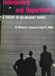 The best books on Crime and Punishment - Delinquency and Opportunity by Lloyd Ohlin & Richard Cloward