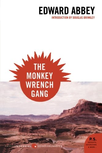 The best books on Wilderness - The Monkey Wrench Gang by Edward Abbey