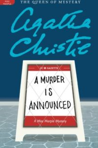 The Best Murder Mystery Books - A Murder is Announced by Agatha Christie