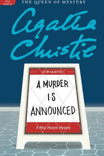 The Best Agatha Christie Books - A Murder is Announced by Agatha Christie