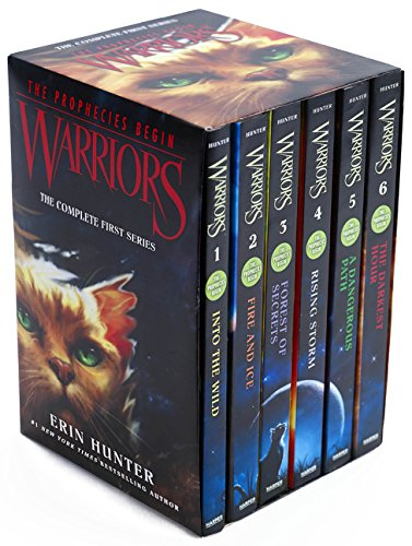 Best Series for 10 Year Olds - Warrior Cats by Erin Hunter