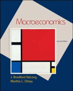 The Best Books on the Classical Economists - Macroeconomics by Brad DeLong & Martha Olney