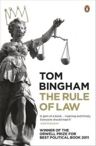 The best books on The Rule of Law - The Rule of Law by Tom Bingham