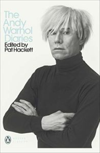 The best books on Andy Warhol - The Andy Warhol Diaries by Pat Hackett