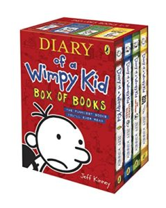 Best Series for 10 Year Olds - Diary of a Wimpy Kid (Box Set) by Jeff Kinney