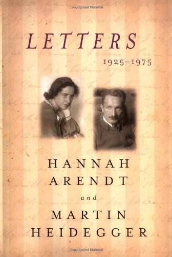 The best books on Literary Letter Collections - Letters: 1925-1975 by Hannah Arendt & Martin Heidegger