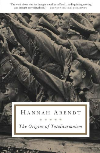 The best books on Fascism - The Origins of Totalitarianism by Hannah Arendt