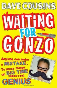 Best Football Books for Kids and Young Adults - Waiting For Gonzo by Dave Cousins