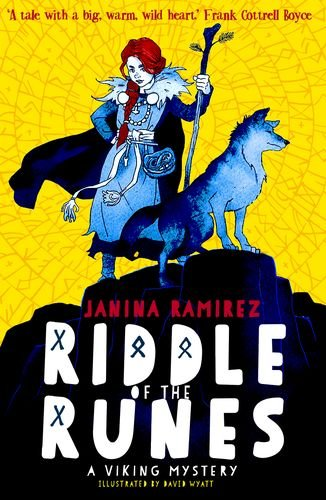 The Best Viking History Books for Kids: Riddle of the Runes (Book 1) by Janina Ramirez