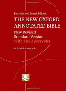 Versions of the Bible - The Bible The New Oxford Annotated Bible