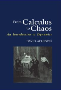 Favourite Maths Books - From Calculus to Chaos: An Introduction to Dynamics by David Acheson