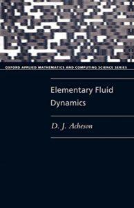 Favourite Maths Books - Elementary Fluid Dynamics by David Acheson