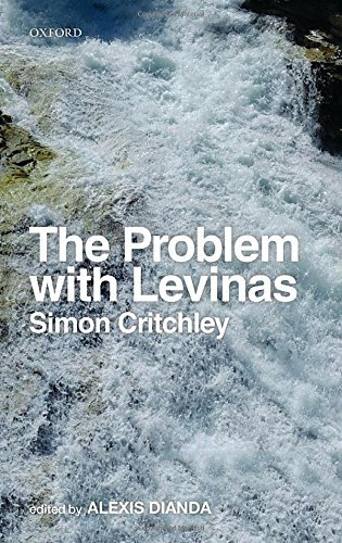 The best books on Continental Philosophy - The Problem with Levinas by Simon Critchley