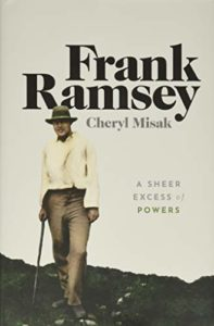 The Best Philosophy Books of 2020 - Frank Ramsey: A Sheer Excess of Powers by Cheryl Misak