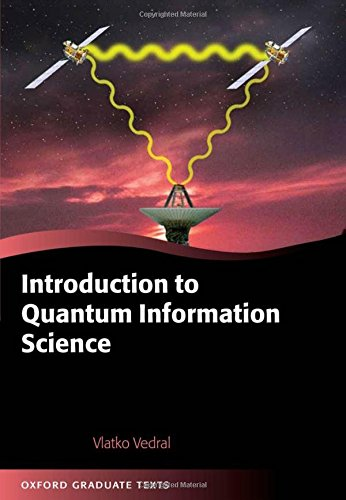 The best books on Quantum Theory: Introduction to Quantum Information Science by Vlatko Vedral