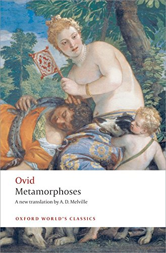 Metamorphoses Ovid (translated by A D Melville)