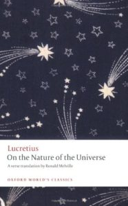 The best books on The Epicureans - On the Nature of the Universe Lucretius (trans. Ronald Melville)