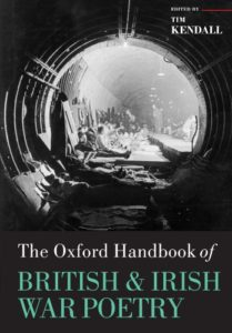 Sylvia Plath Books - The Oxford Handbook of British and Irish War Poetry by Tim Kendall