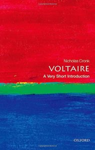The Best Voltaire Books - Voltaire: A Very Short Introduction by Nicholas Cronk