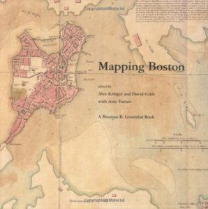 The best books on Boston - Mapping Boston by Alex Krieger and David Cobb (editors)