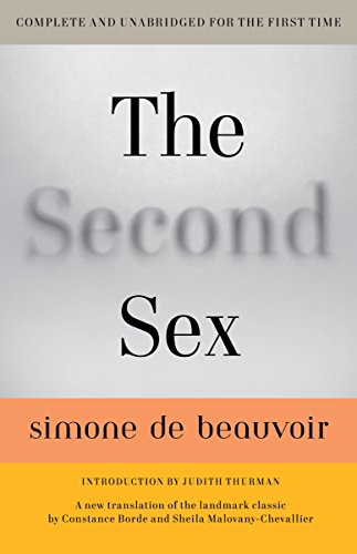 The best books on Philosophy of Love - The Second Sex by Simone de Beauvoir