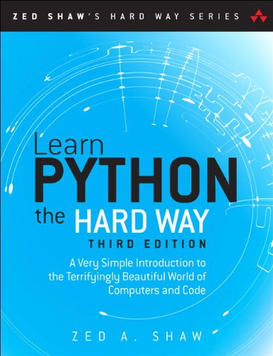 The best books on Learning Python and Data Science - Learn Python the Hard Way by Zed A. Shaw