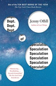 Very Short Books You Can Read In A Day - Dept. of Speculation by Jenny Offill