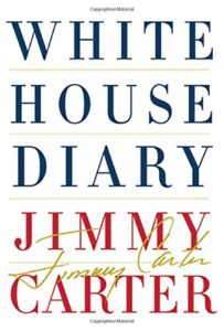 Presidential memoirs (and biographies) as audiobooks - White House Diary by Jimmy Carter