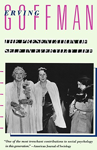 The best books on Personality Types - The Presentation of Self in Everyday Life by Erving Goffman