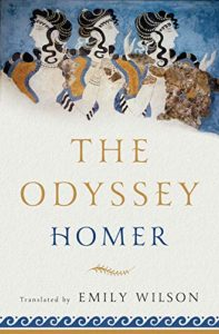 The Best Trojan War Books - The Odyssey by Homer and translated by Emily Wilson
