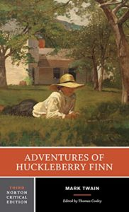 The Best Novels in English - Adventures of Huckleberry Finn by Mark Twain