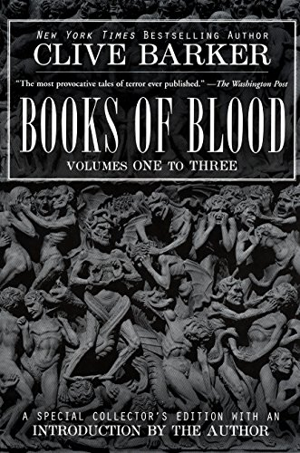 Books of Blood (Vols. 1-3) by Clive Barker