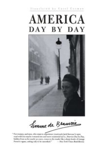 The Best Simone de Beauvoir Books - America Day By Day by Simone de Beauvoir