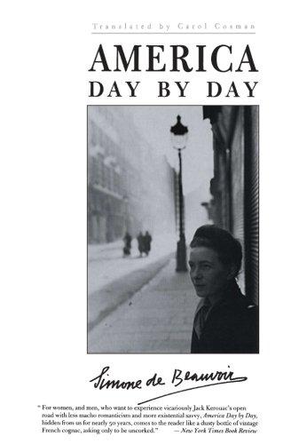 The Best Simone de Beauvoir Books - America Day By Day by Simone de Beauvoir
