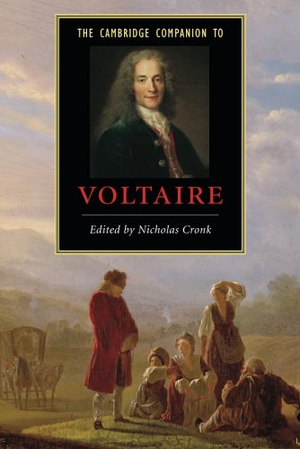 The Best Voltaire Books - The Cambridge Companion to Voltaire by Nicholas Cronk