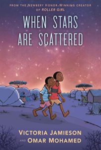 The Best Audiobooks for Kids of 2020 - When Stars Are Scattered by Omar Mohamed and Victoria Jamieson, narrated by Faysal Ahmed (and full cast)