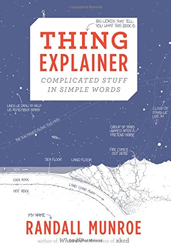 The Best Physics Books for Teenagers - Thing Explainer: Complicated Stuff in Simple Words by Randall Munroe