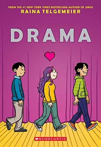 The Best Graphic Novels for Eight Year Olds - Drama by Rainia Telgemeier