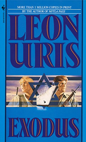 The best books on US-Israel Relations - Exodus by Leon Uris