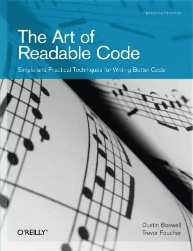 The best books on Computer Science for Data Scientists - The Art of Readable Code by Dustin Boswell & Trevor Foucher