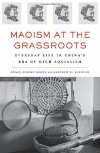 The best books on Maoism - Maoism at the Grassroots edited by Jeremy Brown and Matthew D. Johnson